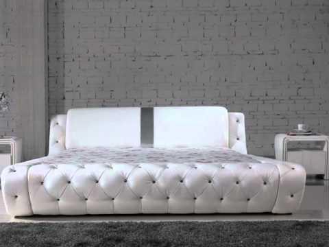 Wasserbett design  Paolo Collaner Designer Bett Polsterbett Lederbett Bettgestell ...