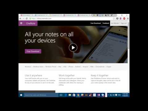Webinar - Microsoft OneNote for Nonprofits and Libraries - 2015-07-30