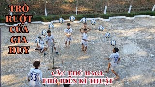 NamPt - Cầu thủ HAGL so tài bóng lưới | Đẳng cấp của team Gia Huy