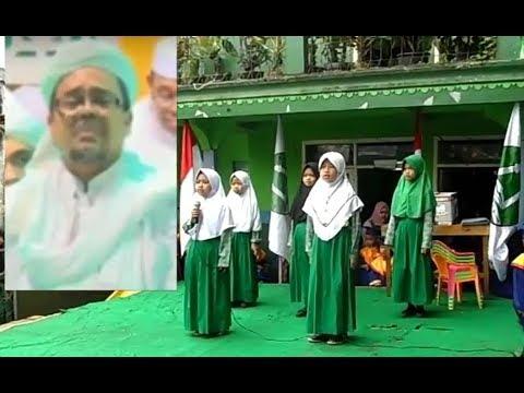 Heboh... Anak SD Nyanyikan Lagu Habib Rizieq dengan Lantang