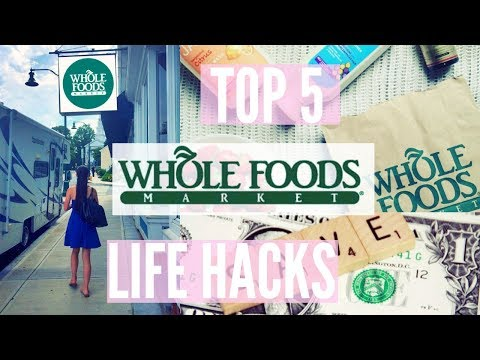 Whole Foods Market LIFE HACKS // & grocery haul [WSLF]