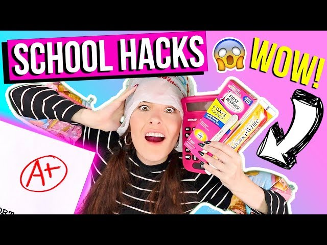 15 SAVAGE BACK 2 SCHOOL WEIRD HACKS 2017 U NEED NOW !! RELATABLE! +GIVEAWAY !! SIMPLYNAILOGICAL