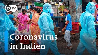 Covid-19 setzt indiens gesundheitssystem unter druck   coronavirus news