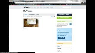 Baixar Creating an Album in Vimeo