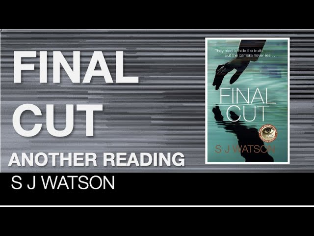 Another reading from Final Cut