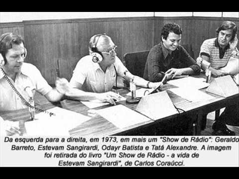 Show de Rádio Estevam Sangirardi   Natal de 1979 Rádio Jovem Pan