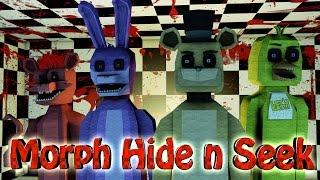 minecraft   morph hide and seek five nights at freddy s 5 nights at freddys freddy bonnie