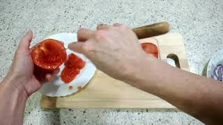 Уникальная закуска из помидор ,кто попробует,тот ум отъест. Корзиночки из помидор