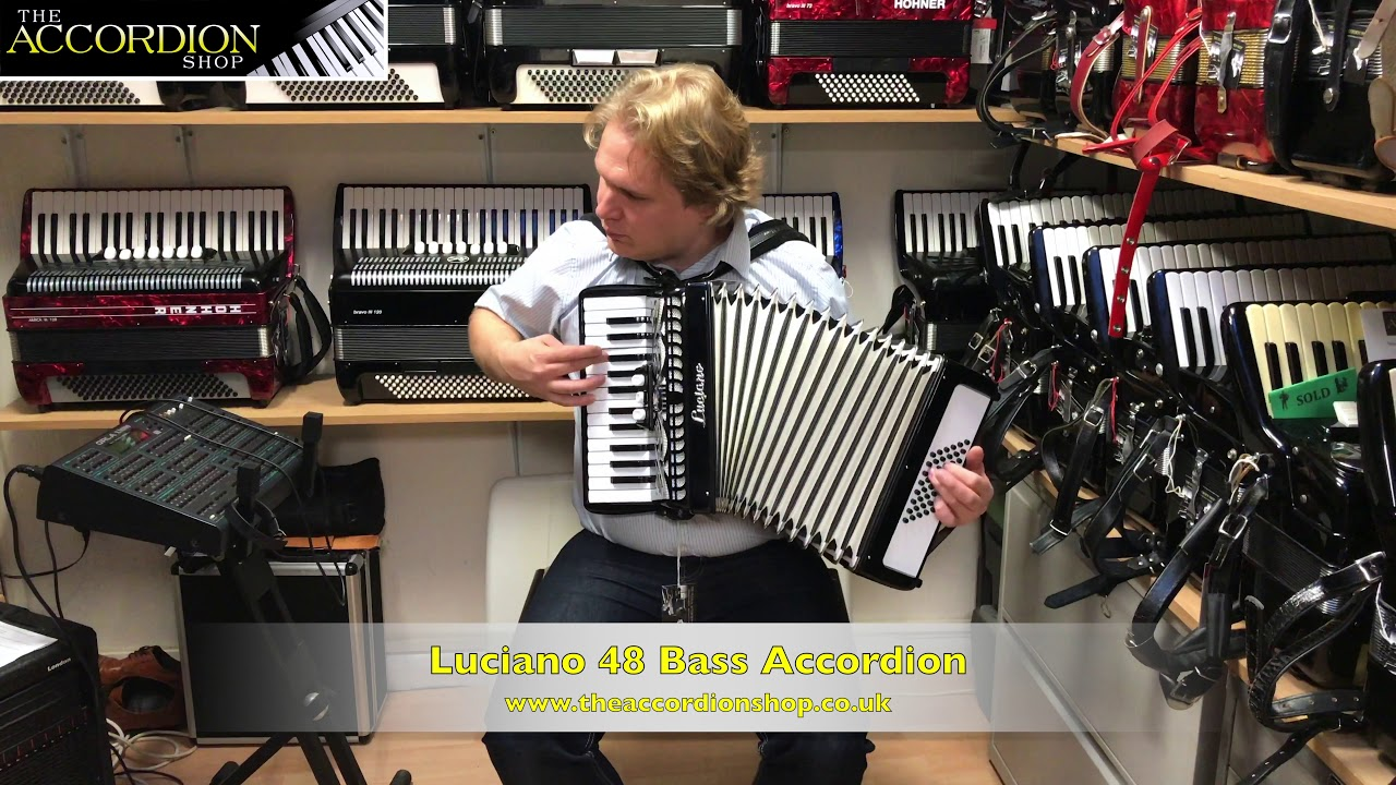 Luciano 48 Bass Accordion