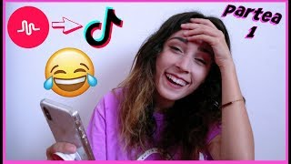 REACTIONEZ LA MUSICAL.LY-URILE VOASTRE!!! (part 1) | TIK TOK