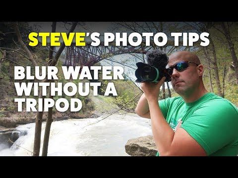 Steve's Photo Tips: Waterfall Photography Tips & How to Blur Water in Photos