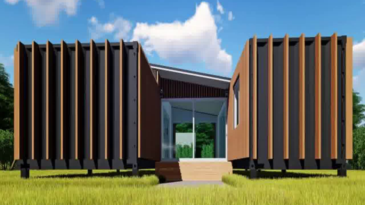 shipping container home eco