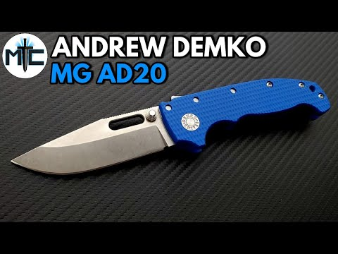 Andrew Demko MG AD20 Folding Knife – Overview and Review
