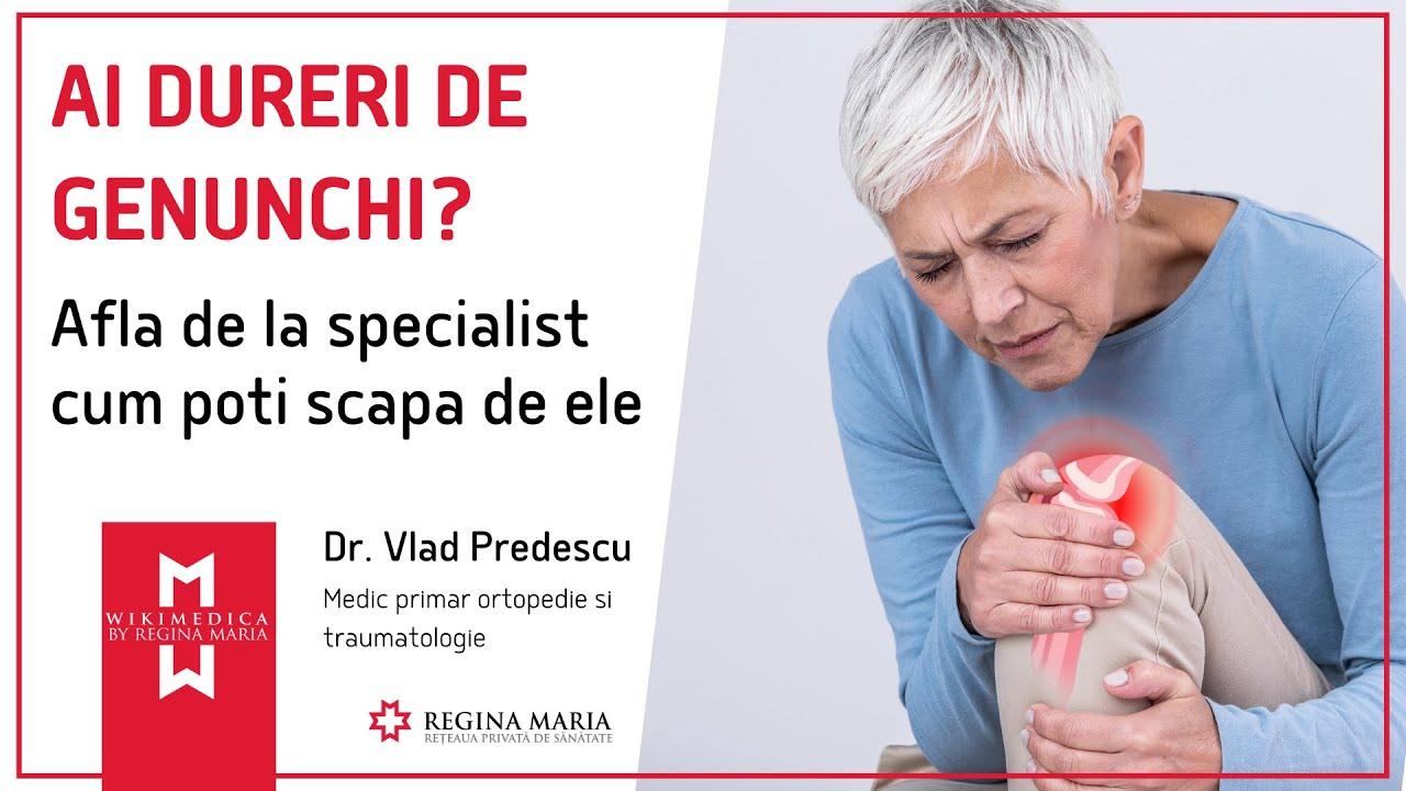 ortoped de dureri articulare