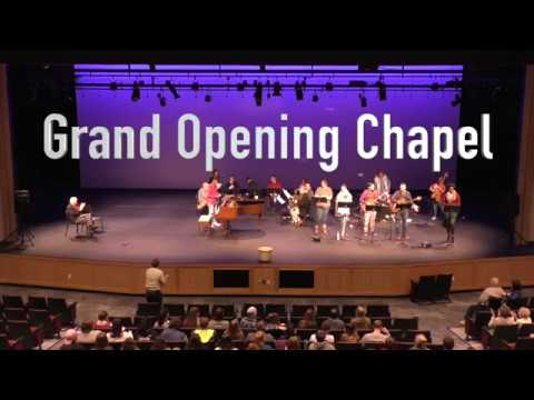 Ross-Ellis Center Grand Opening Chapel 1.9.18