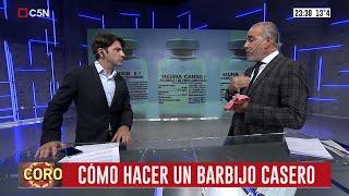 Coronavirus: El Dr. Capuya explica cómo hacer un barbijo casero