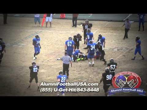 1-12-13 East Burke vs East Rutherford (Highlights) Alumni Football USA