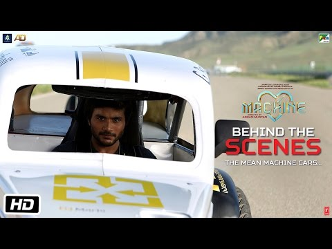 Machine Diaries | Behind The Scenes | The Mean Machine Cars | Mustafa | Kiara Advani
