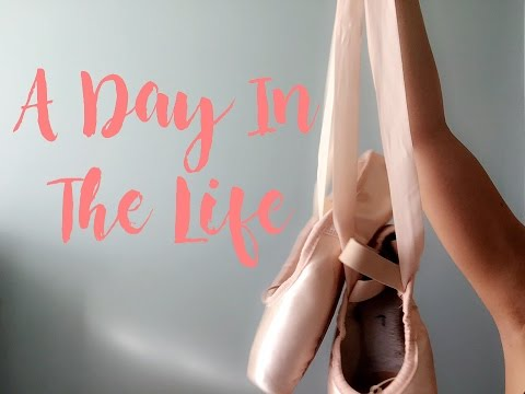 Day In The Life Of A Ballet Student/What A Vegan Ballerina Eats In A Day | Audrey Ann