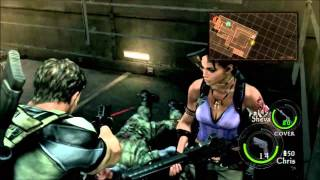 Resident Evil 5 Walkthrough Part 35: Excella Becomes a Tentacle Monster!