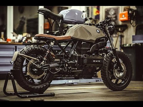 sir ulrich bmw k100 style scrambler youtube. Black Bedroom Furniture Sets. Home Design Ideas