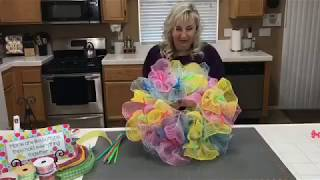 Mothers Day Button Wreath DIY