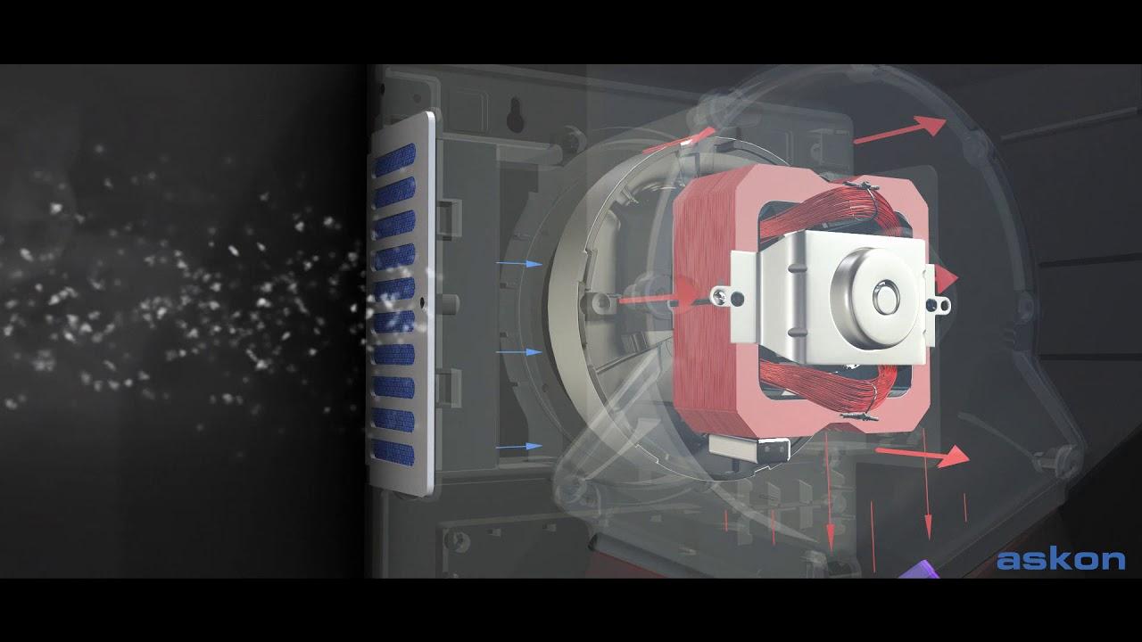 Askon V Jet Hand Dryer ASH VJ