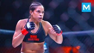 Amanda Nunes Training for Ronda Rousey (UFC 207)   Muscle Madness