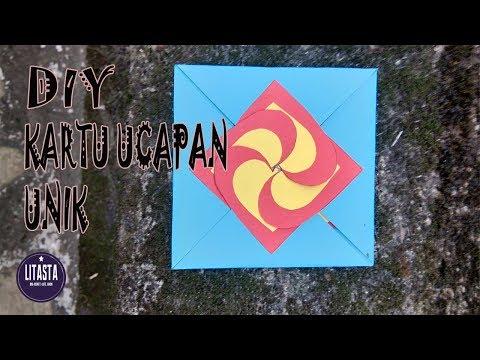 Mudah !! Ide Kreatif Membuat Kartu Ucapan Unik Dari Kertas Origami