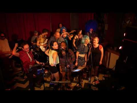 """HOUSEQUAKE: """"Rockhard in a Funky Place,"""" Live @ The Windup Space, 6/9/2016"""