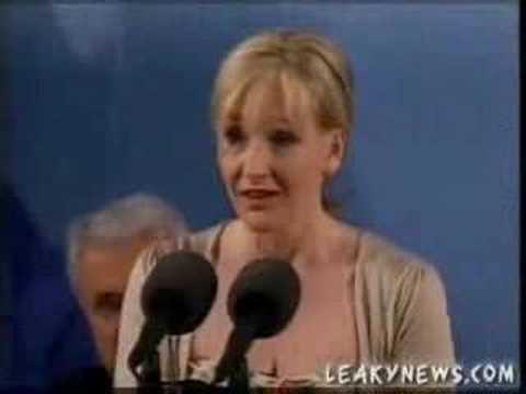 J.K.Rowling speaking at Harvard part 3