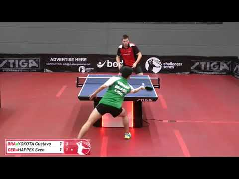 Gustavo Yokota vs Sven Happek (Challenger series, March 1st 2018, group match)