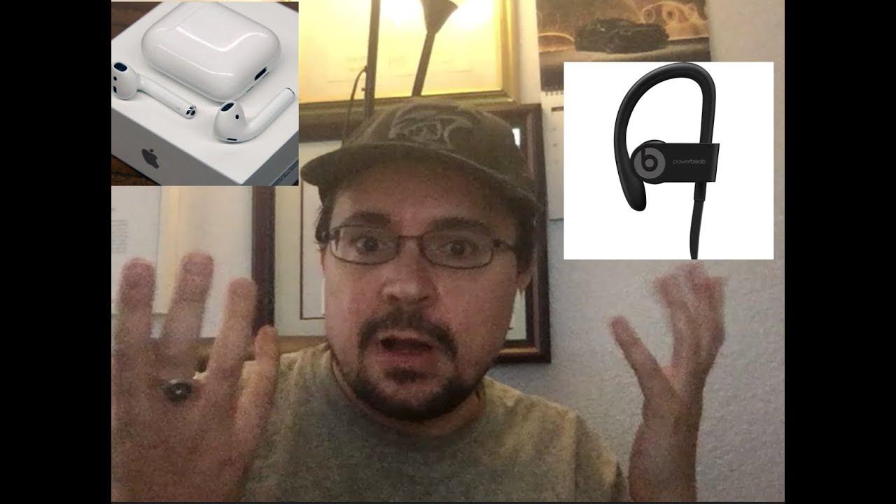 Apple Airpods vs Beats Powerbeats 3 - Comparison & review