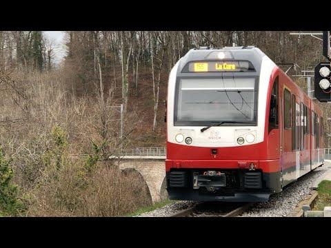 [FR/DE] Trafic ferroviaire/Bahnverkehr NStCM + Cab Ride - 04.2018 - Transports Publics Suisses