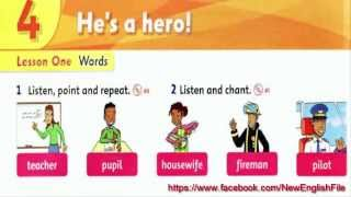 Unit 4 He  is a hero Lesson 1 | Family and Friends 1