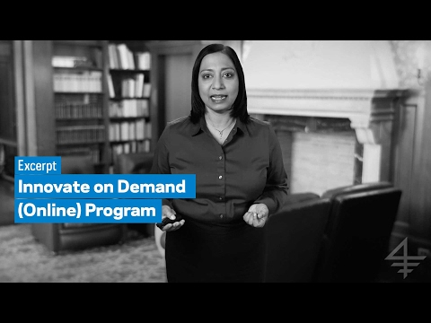 Innovate on Demand (Online) Program: Excerpt