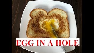 The Classic EGG In A HOLE/Toad In The Hole (EASY RECIPE)
