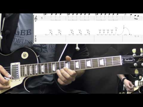 Gary Moore - Stop Messin' Around (Part2) - Blues Guitar Lesson (w/Tabs)