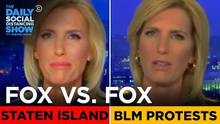 Fox News: Staten Island Protests vs. BLM Protests | The Daily Social Distancing Show