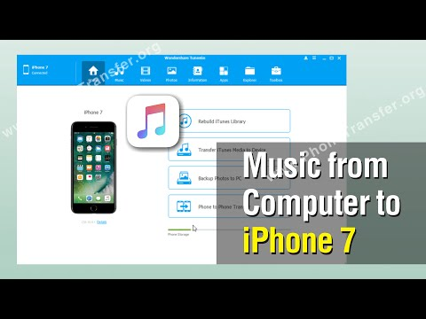 HOW TO Transfer Pictures/Videos/Music from PC to iPhone (2020).