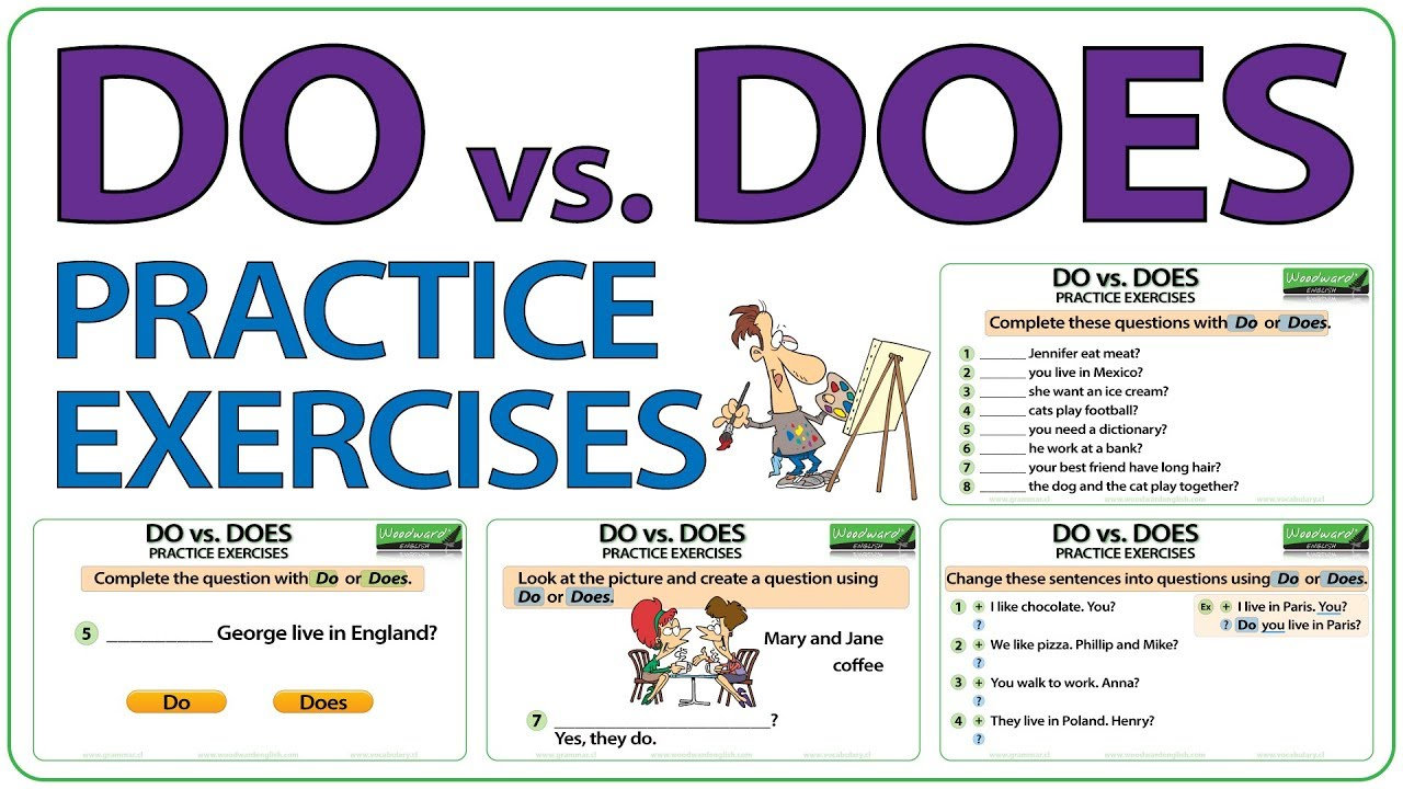 Do vs Does Questions - English Grammar Rules