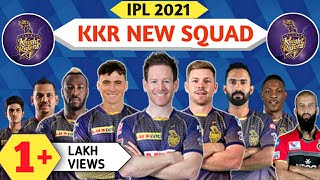 IPL 2021 - Kolkata Knight riders Full Squad | KKR Probable squad for IPL 2021 | 2021 kkr team