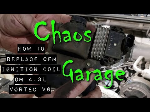 How to Replace the OEM Ignition Coil on a GM 4.3L Vortec V6 Engine