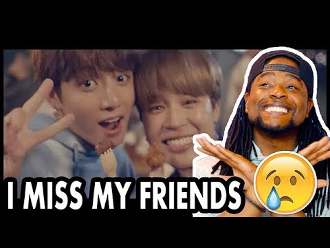 BTS - Best Of Me ft  Chainsmokers MV | I Miss My Friends | REACTION!!!