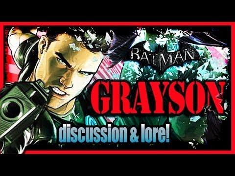 Batman Arkham City - Nightwing Super Spy Dick Grayson Discussion and Lore!