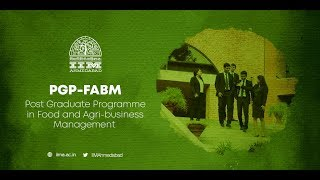 The IIMA PGP-FABM Programme - A Student's Perspective (Version 2)