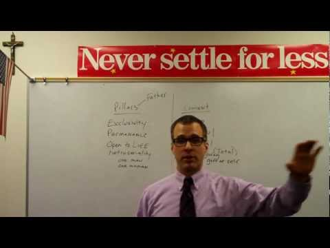 Never Settle Series - Life and Marriage (Wedding at Cana)