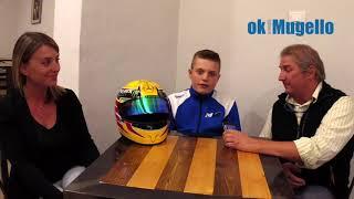 Mattia Moretti campione italiano e internazionale Easy Kart