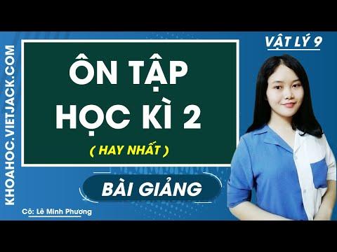 Ôn tập học kì 2 - Vật lý 9 - Cô Lê Minh Phương (HAY NHẤT)