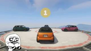 SUMO FIGHT ON THE MAZE BANK! (GTA 5 Online Funny Moments)
